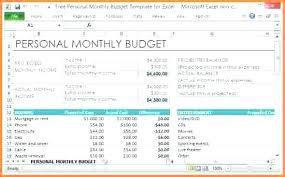 example of personal budget excel spreadsheet group personal accounting excel template personal