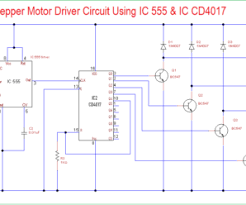 4 wire stepper motor driver circuit archives theorycircuit do it 555 timer stepper motor controller circuit