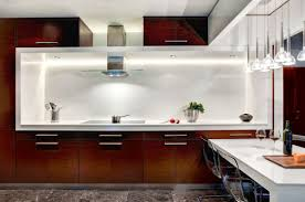 Brown And White Kitchens Picture Of Contemporary White And Brown Kitchen Design With Pedant