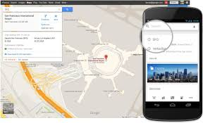 google maps update includes quick access to flight hotel and