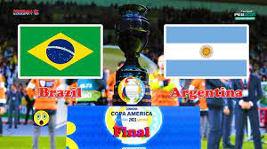 BRAZIL vs ARGENTINA 😲 COPA AMERICA 2021 ...