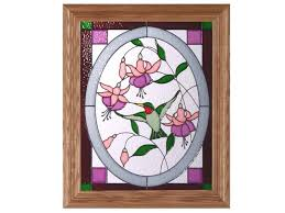 stain glass hummingbird hummingbird in oval cathedral stained glass panel x hummingbird stained glass panel pattern