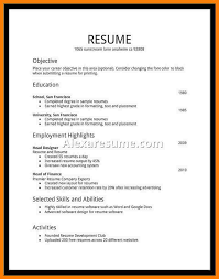 My First Job Resume Last Edit Am By Job Resume Samples For Best