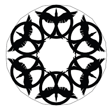 Cutting at an angle is what makes the points of the snowflake. 10 Pop Culture Snowflakes Printables Fun Com Blog