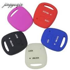 jingyuqin 1 button flip folding car key shell case fob for benz mercedes 1984 2004 uncut blade replacement car styling