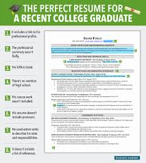 50 Best Of Recent College Grad Resume Template Zemedelskozname