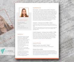 Resume Modern Ex Free Modern Creative Cv Resume Template In Minimal Style In