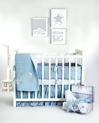 blue cot bedding starry night linen luxury collection quilt baby boy blue elephant stars crib bedding