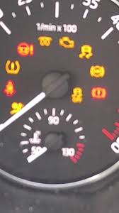 Bmw Dpf Warning Light I Cannot See Dpf Symbol In The Dash Skoda Octavia Mk Iii