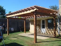 Simple Pergola modern simple pergola and gazebo design trends attached to house 6729 by xevi.us