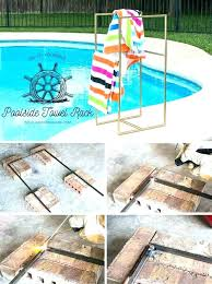 pool towel rack foxy outdoor spa and pool towel rack pool towel racks free standing pool towel rack