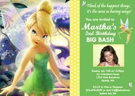 Tinkerbell Invitation Tinkerbell Disney Fairy Custom Birthday Invitation Flickr