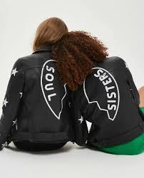 soul faux leather biker jacket