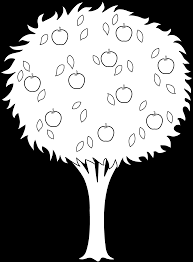 Apple Tree 55 Nature Printable Coloring Pages