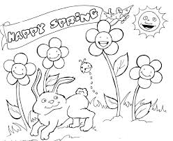 Spring Coloring Book Pages Zupa Miljevcicom