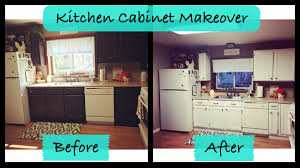 Small Picture Kitchen Cabinet Makeover RUSTOLEUM Cabinet Transformations YouTube