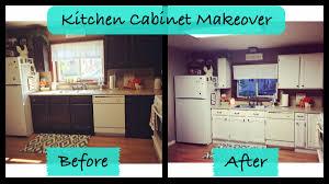 Rustoleum Kitchen Cabinet Kitchen Cabinet Makeover Rustoleum Cabinet Transformations Youtube
