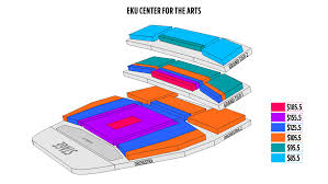 Eku Center For Arts Seating Chart Richmond Eku Center For The Arts Plan De La Salle Français