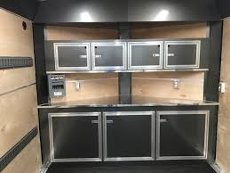 Cabinets For Cargo Trailers Custom Trailer Cabinets Central Minnesota