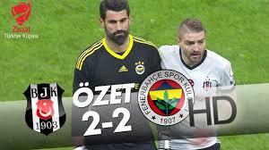 Beşiktaş - Fenerbahçe Maç Özeti - YouTube