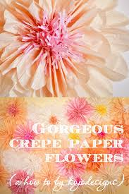 Paper Flower Designs How To Make Gorgeous Paper Flowers
