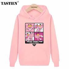 TASTIEN <b>2019 New Fashion Cute</b> Women Sweatshirts Pink Panther ...
