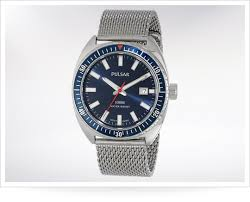 best watches under 150 page 2 askmen how pulsar makes a 1950s retro style sport watch a delicious mesh bracelet for under 200 is beyond us the simple lumed markers pop on the handsome
