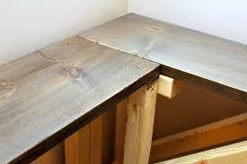 diy sofa table. DIY Sofa Table - Cerusing Diy