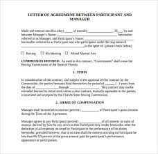Example Of An Agreement 12 Simple Agreement Letter Examples Pdf Word Examples