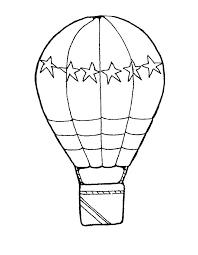 Hot Air Balloon Coloring Jerzmanki Info