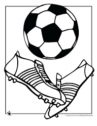 Soccer Ball Coloring Page Soccer Colouring Pictures To Print A