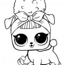 Classy Idea Lol Surprise Coloring Pages Free Printable Lol Dolls