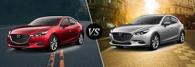 2017 Mazda3 Sedan Vs 2017 Mazda3 Hatchback
