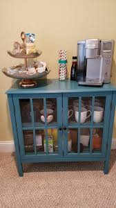 coffee station furniture. coffee station target windham collection cabinet 2 tier shelf home goods jars furniture