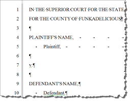 Pleading Paper Under Fontanacountryinn Com