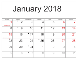 january 2018 calendar free free january 2018 calendar