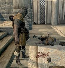 Skyrim Guard Quotes Awesome The Last Guard From The Battle Of Whiterun He Looks Sad Skyrim