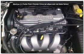 the liter four cylinder chrysler dodge engine mexican turbo engine
