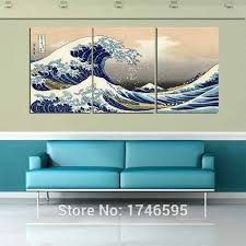 >big size modern home decor wall art picture great wave off kanagawa  big size modern home decor wall art picture great wave off kanagawa katsushika hokusai printed oil