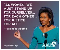 Michelle Obama Quotes Inspiration Women's Words To Lead By AAUW