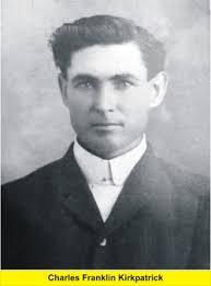 """Charles Franklin """"Frank"""" Kirkpatrick (1877-1926) - Find A Grave ..."""