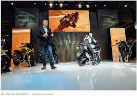 Future Of Autonomous Connected Electric Motor Bikes
