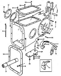 ford naa wiring diagram images center housing parts for ford 8n tractors 1947 1952