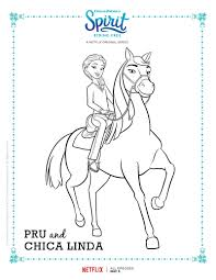 Small Picture Spirit Riding Free Coloring Pages GetColoringPagescom