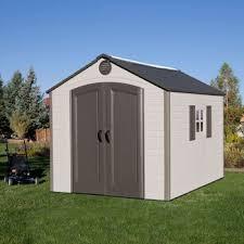 lifetime 8 x 10 storage shed shed