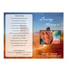 Memorial Pamphlet Template Free Tri Fold Funeral Program Template Microsoft Word Templates For