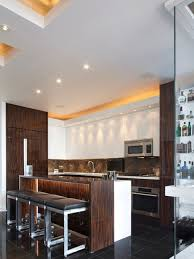 mid size kitchen design. example of a mid-sized trendy l-shaped porcelain floor and black open mid size kitchen design r