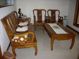 popular furniture wood. living room with wood sofa and cushions popular furniture e