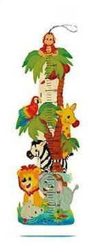 Plantoys Jungle Height Chart Hess Jungle Of Wood Height Chart Multi Color 25 87
