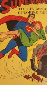 Great gift for your favorite super hero enthusiast! 1964 Whitman Superman To The Rescue Coloring Book For Sale Online Ebay